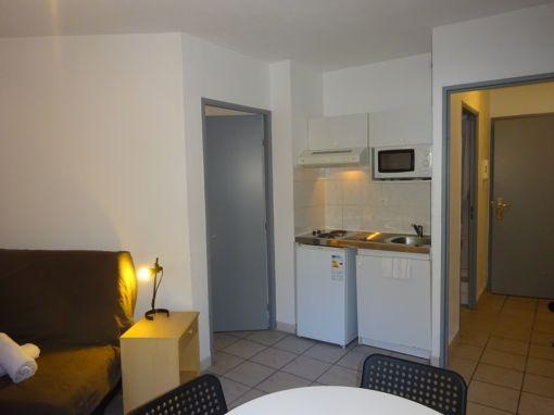 Appartement 2 pièces 35m² - chambre séparée